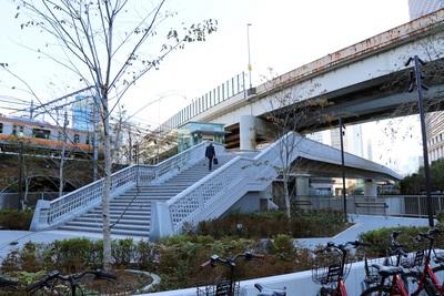歩行者専用橋「竜閑さくら橋」開通! 大手町と神田のアクセスがより便利に。